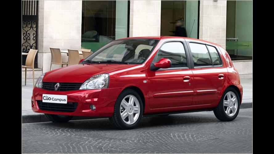 Flüssig mit Gas: Renault Clio Campus jetzt als LPG-Version