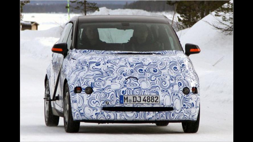 Megacity Vehicle erspäht: Erste Erlkönigbilder vom BMW i3
