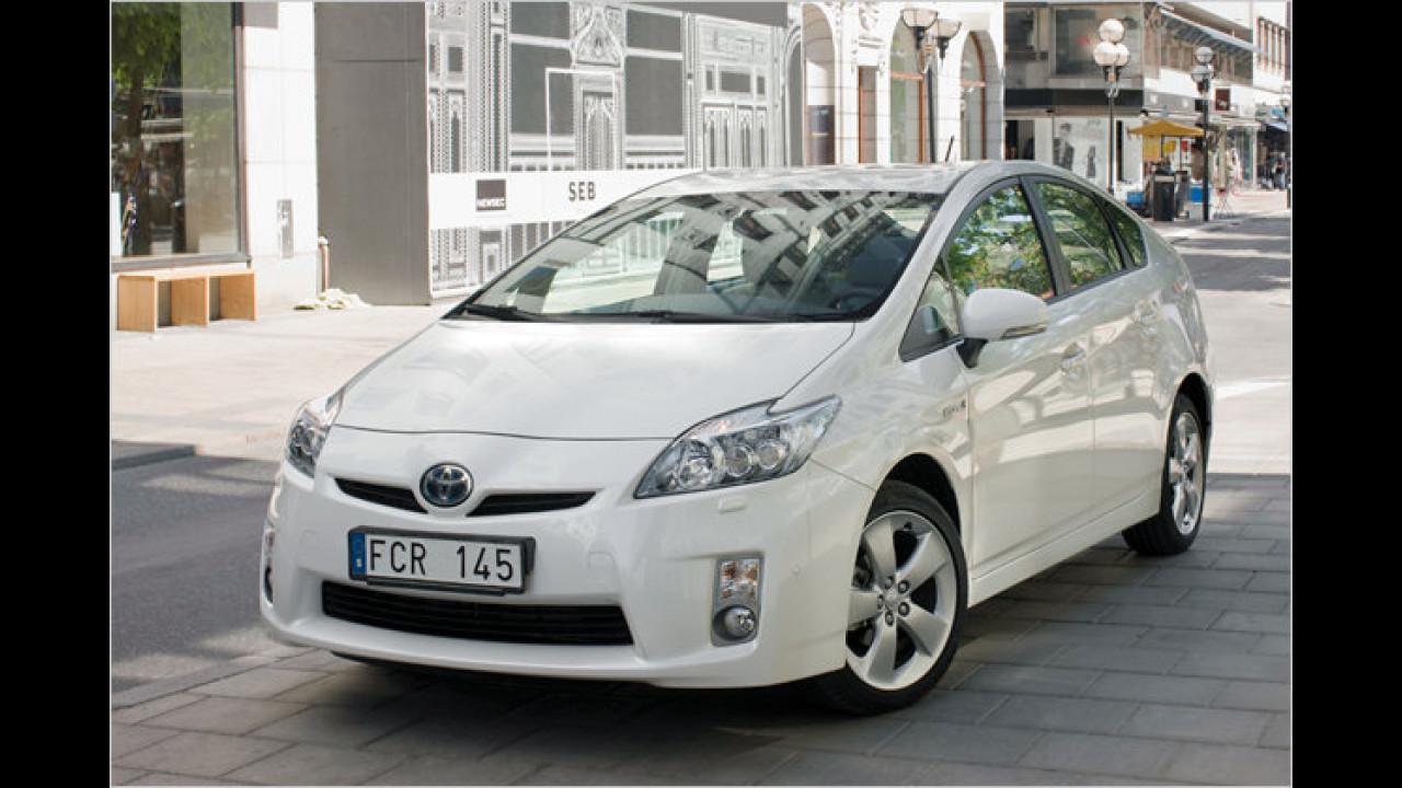 Kompaktwagen, 1. Platz: Toyota Prius