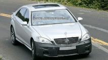 Mercedes S 63 AMG Facelift Spy Photos