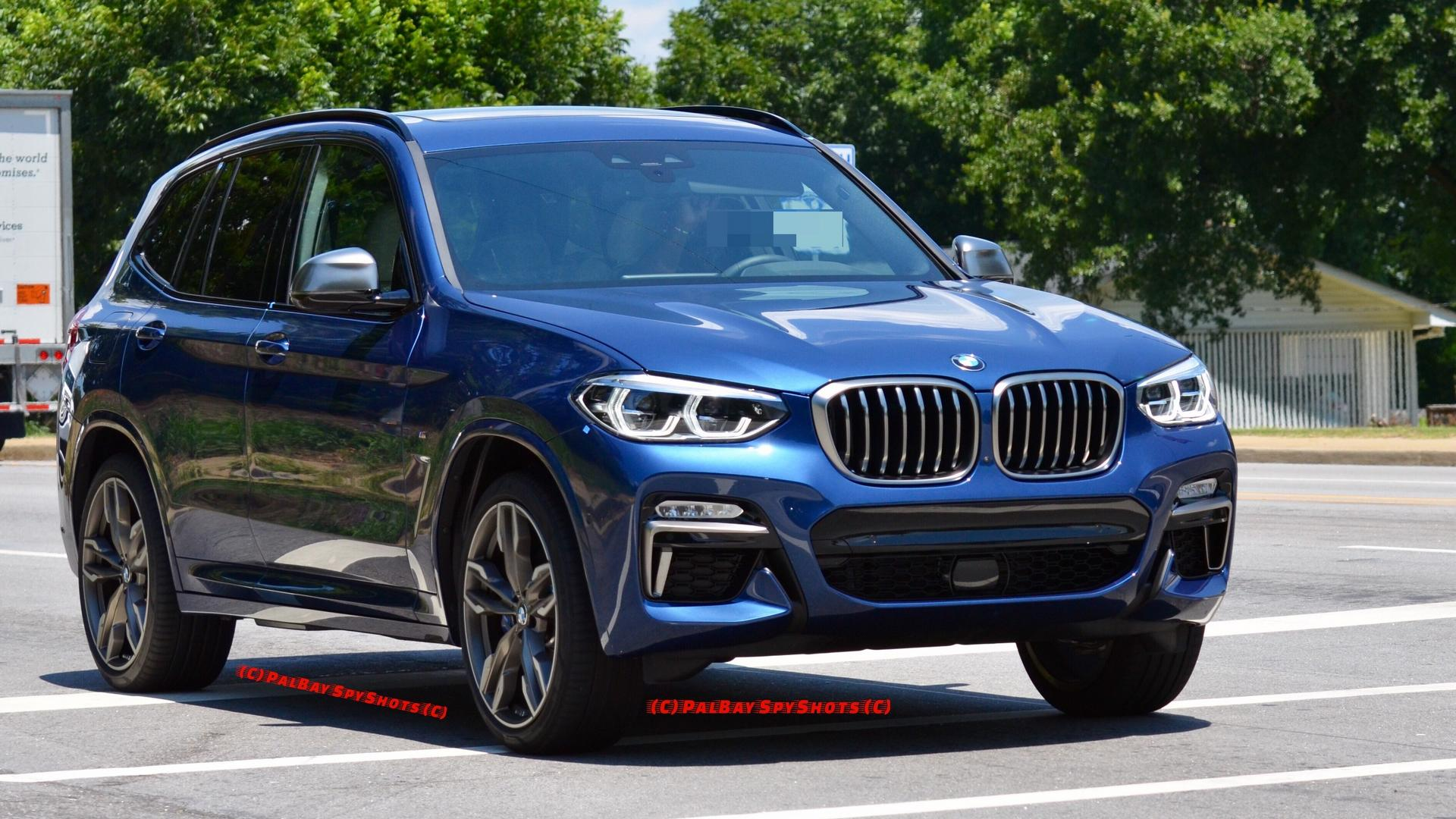 How Does The BMW X Mi Look In Real Life - Blue bmw x3