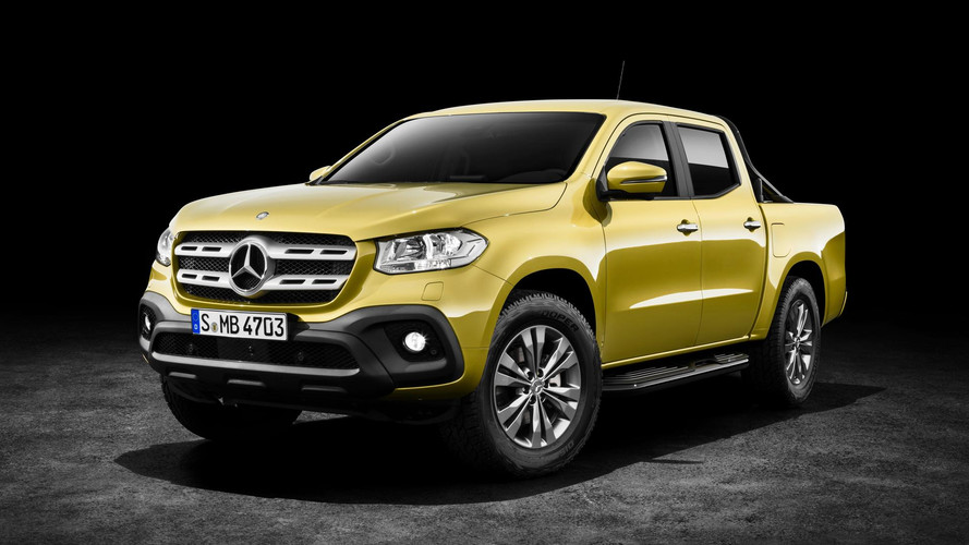Mercedes-Benz Clase X 2018, el primer pick-up Premium