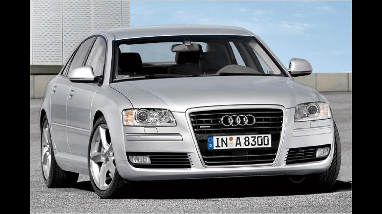 Audi A8: Feinschliff
