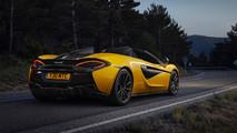 McLaren 570S Spider yellow
