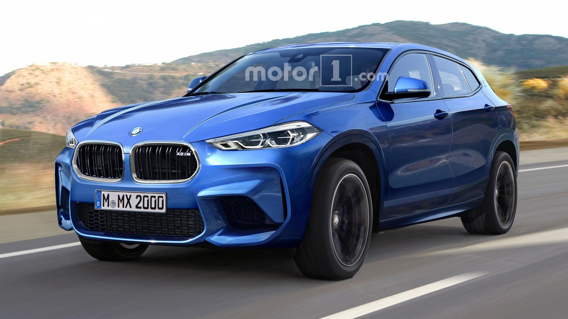 Bmw X2 M Rendered With Aggressive Cues