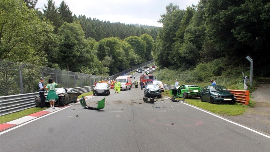 Ten Left Injured In Nordschleife Track Day Pile-Up