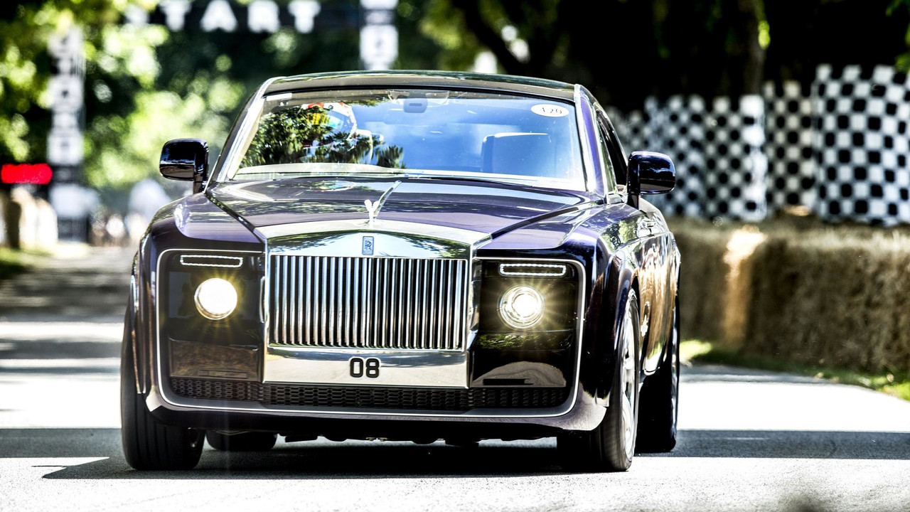Rolls Royce Sweptail Was In No Hurry At Goodwood Fos