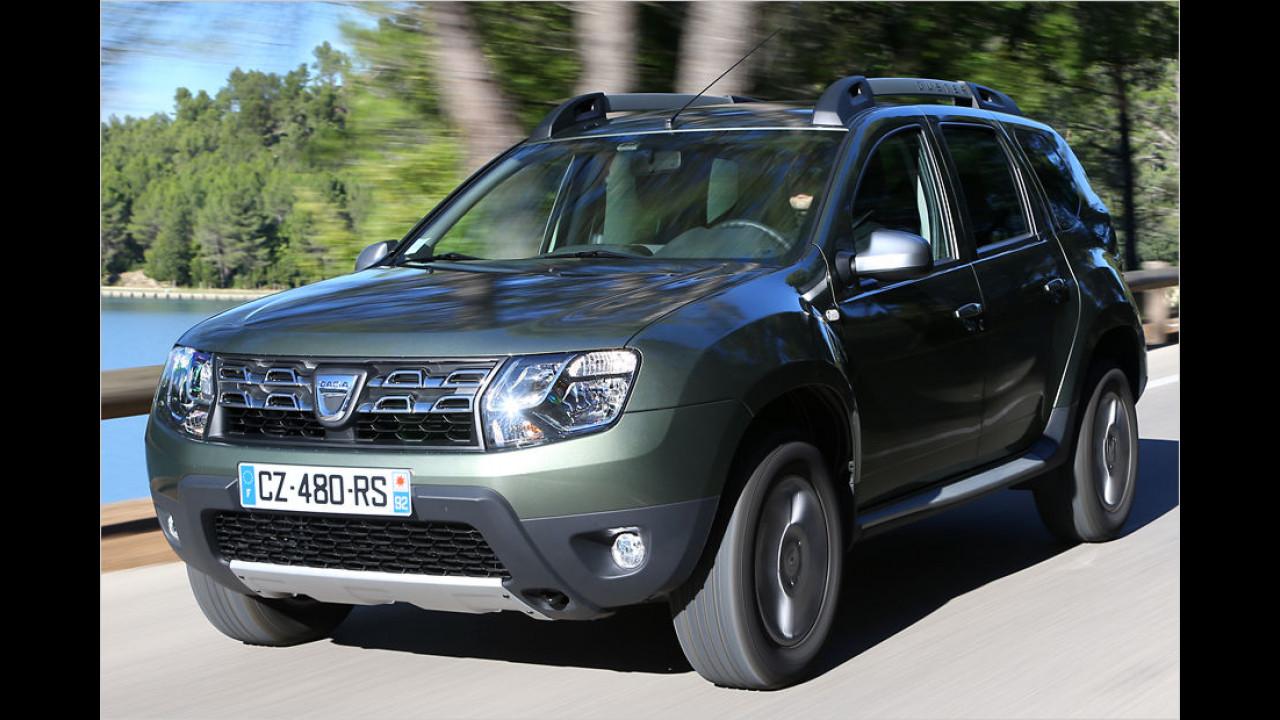 Dacia Duster: 14.071 Neuzulassungen
