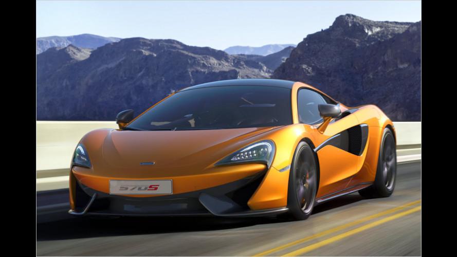 Das kosten McLaren 570S und 540C