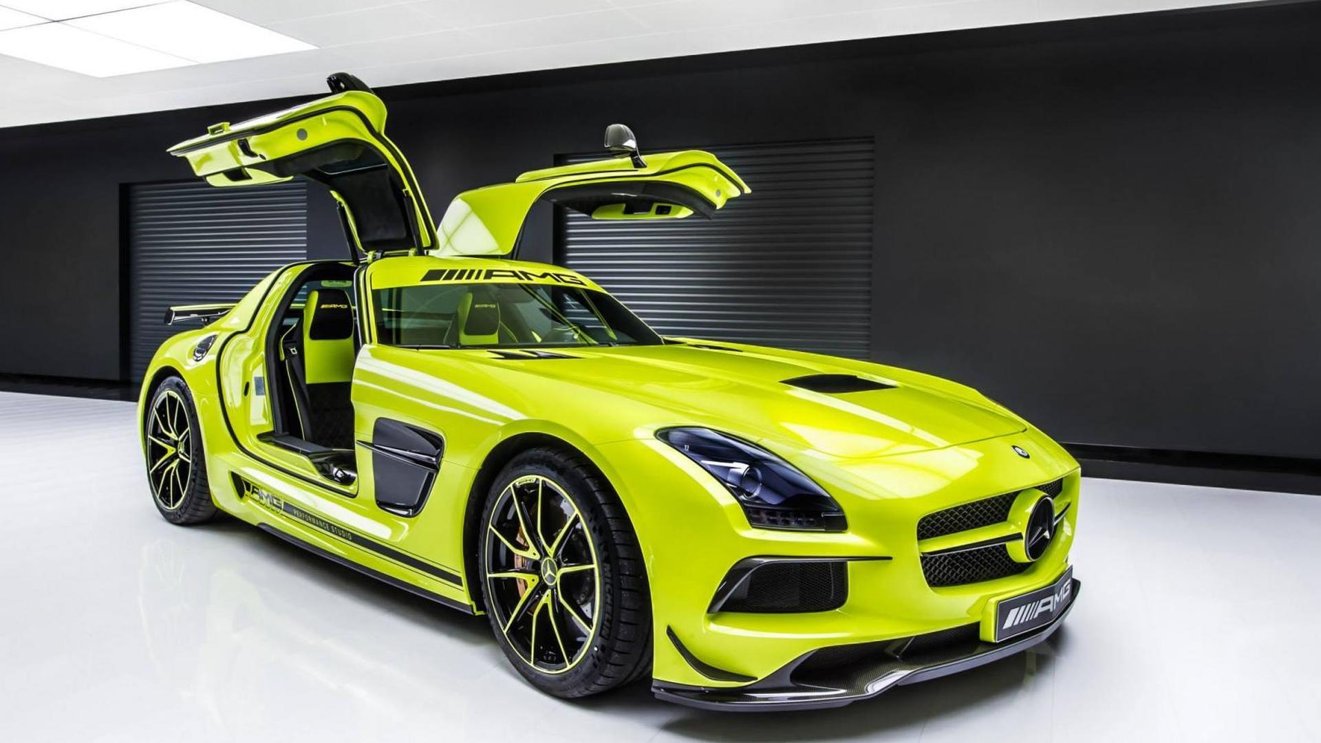 Mercedes SLS AMG Black Series Gets The Bespoke Treatment By Performance Studio