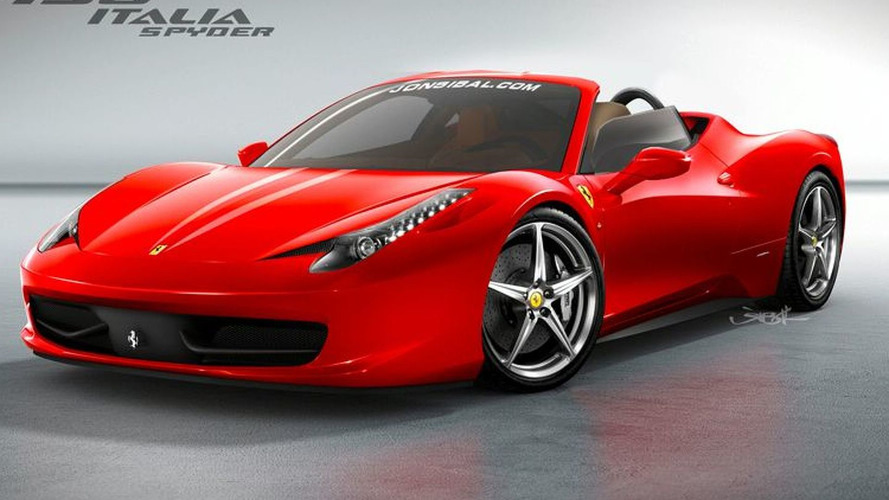Ferrari 458 Spider GTS with glass roof in the works - report