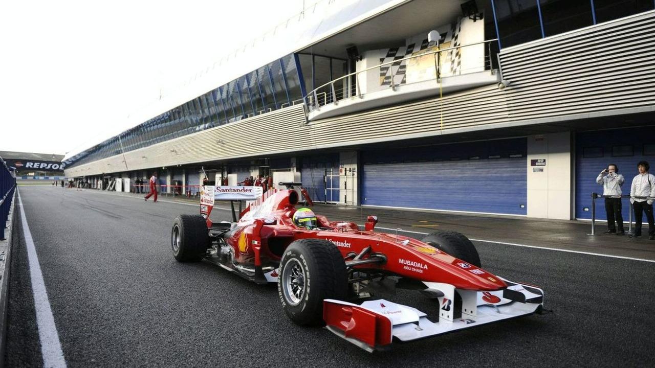 Felipe Massa, Ferrari F10, chassis no. 282, 17.02.2010, Jerez, Spain