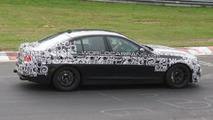 BMW M5 F10 spy photos on Nurburgring