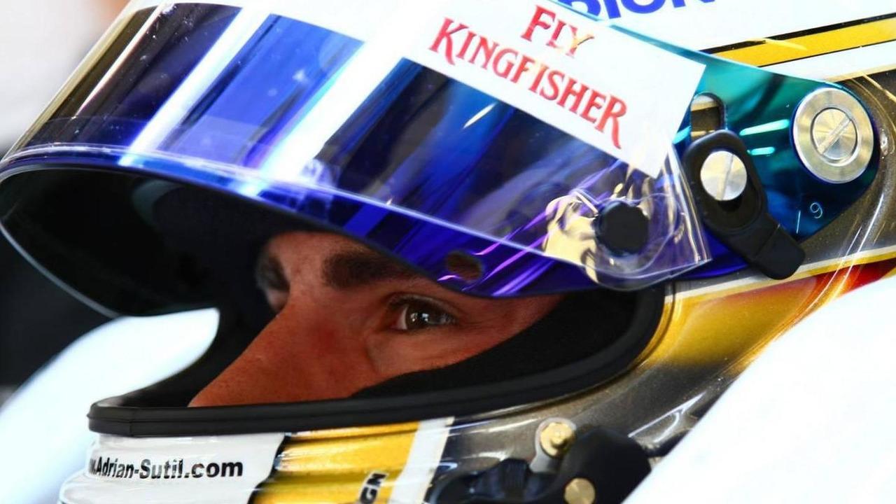 Adrian Sutil (GER), Force India F1 Team, Turkish Grand Prix, 28.05.2010 Istanbul, Turkey