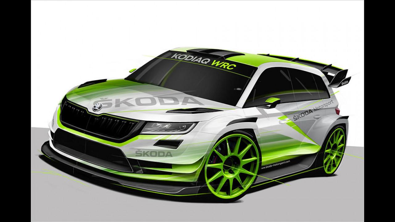 Skoda: Kodiaq startet in der WRC