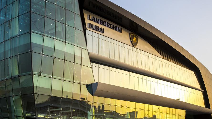 Concessionária Lamborghini em Dubai