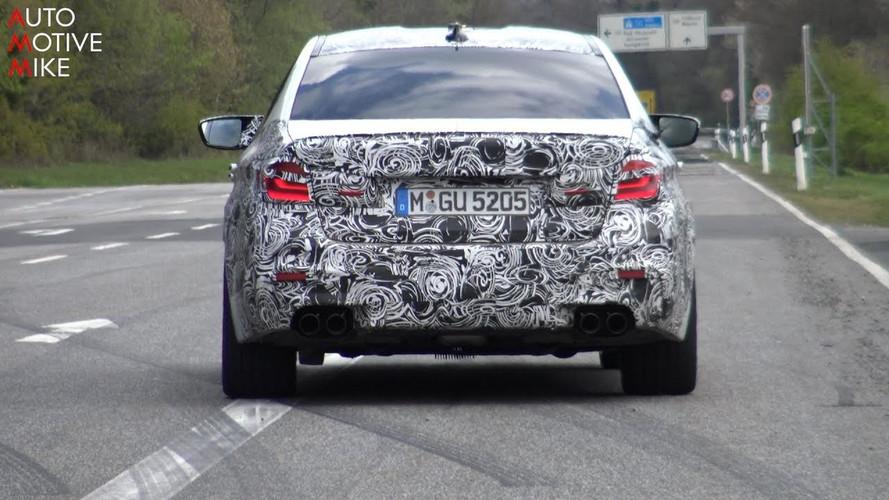 Vídeo de 7 minutos del BMW M5 2017 al límite en el 'Ring'