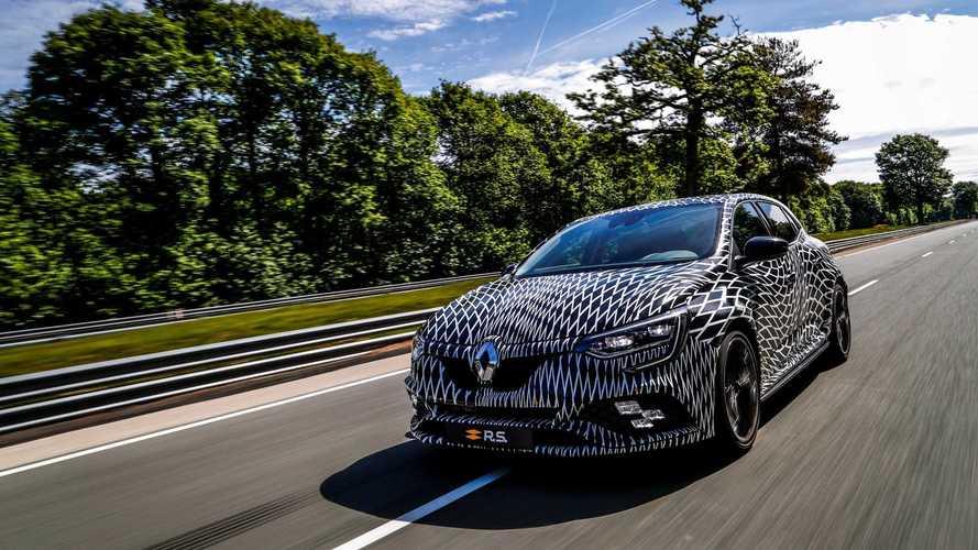 Renault decepciona ao mostrar Mégane R.S. apenas parcialmente