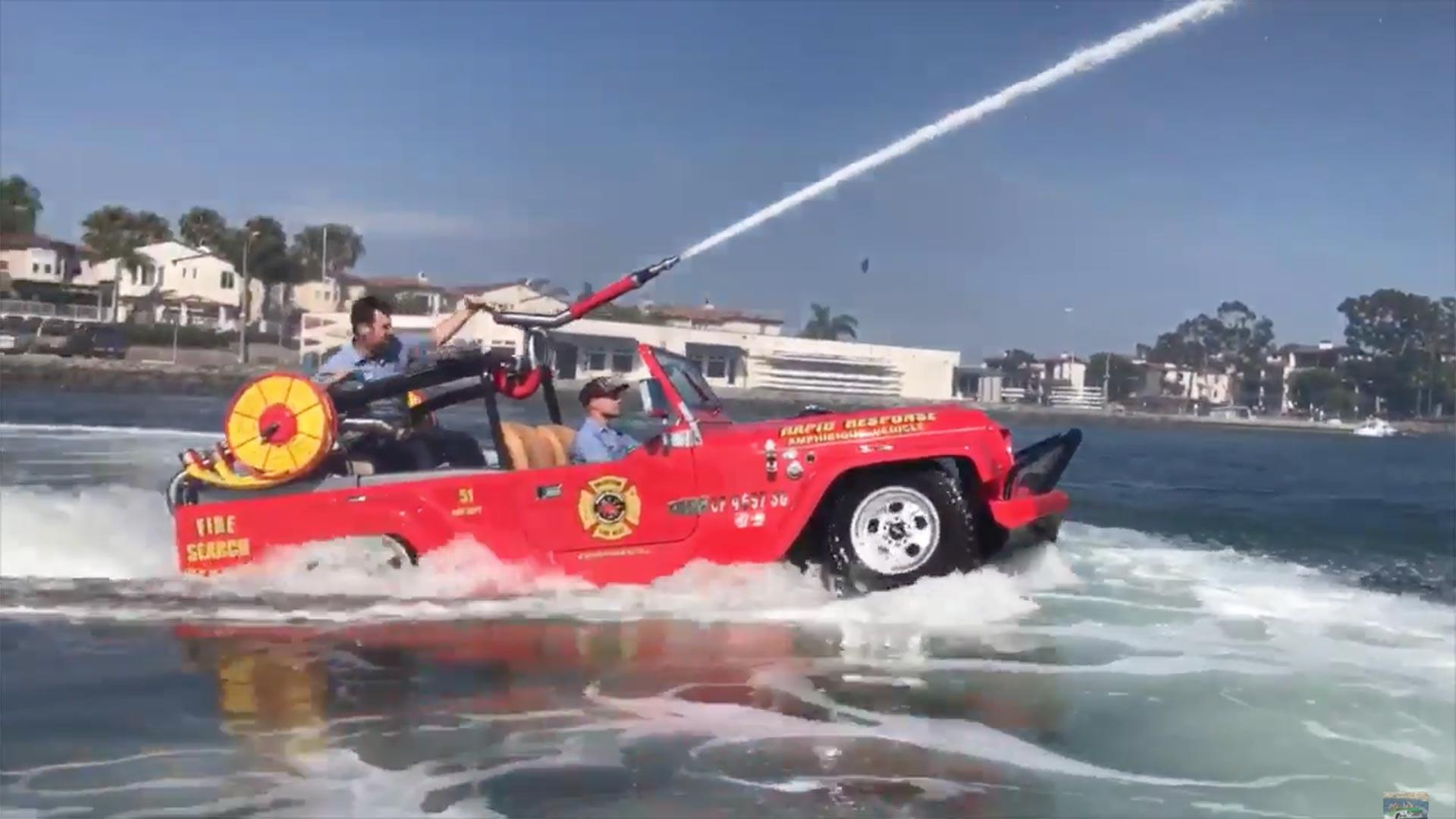 Cannon-Equipped Amphibious WaterCar Is Cool Way To Put Out ...