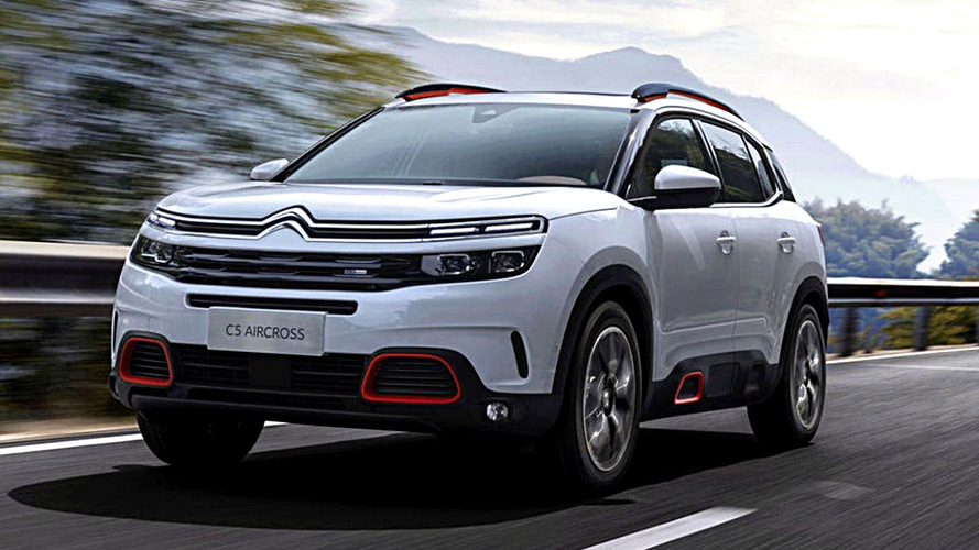 Citroën C5 Aircross Leaked Ahead Of Debut Next Week