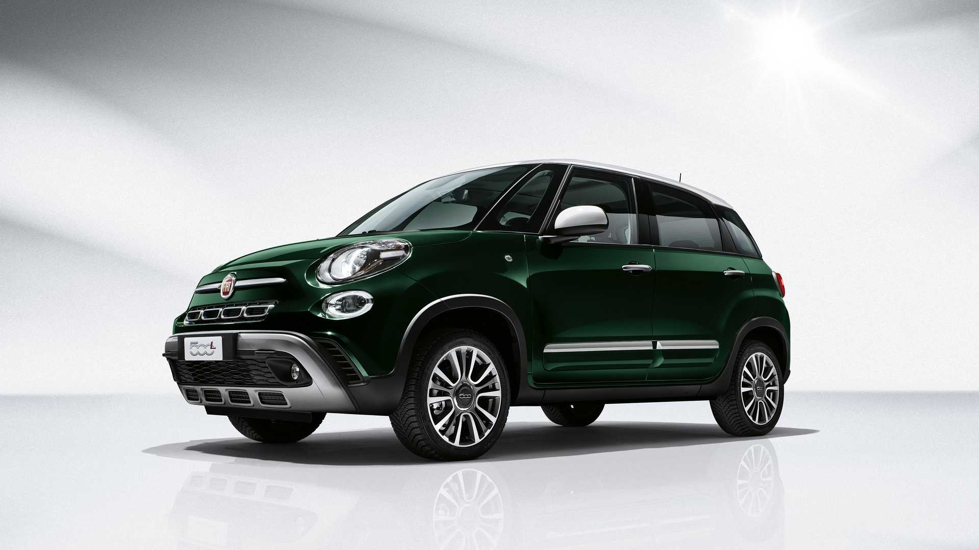 fiat xl by 2018 fiat 500l facelift arrives with 40 percent new parts