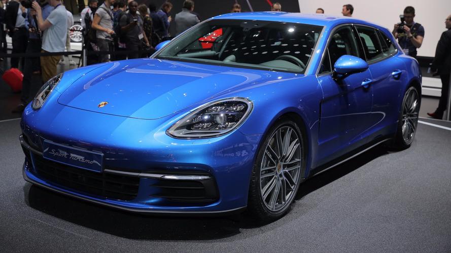 Geneva 2017 - Porsche Panamera Sport Turismo