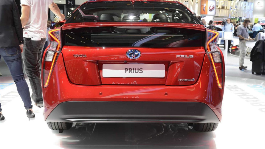 2016 Toyota Prius shows off controversial design in Frankfurt