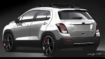 Chevrolet Trax Red Line Series concept teased for SEMA