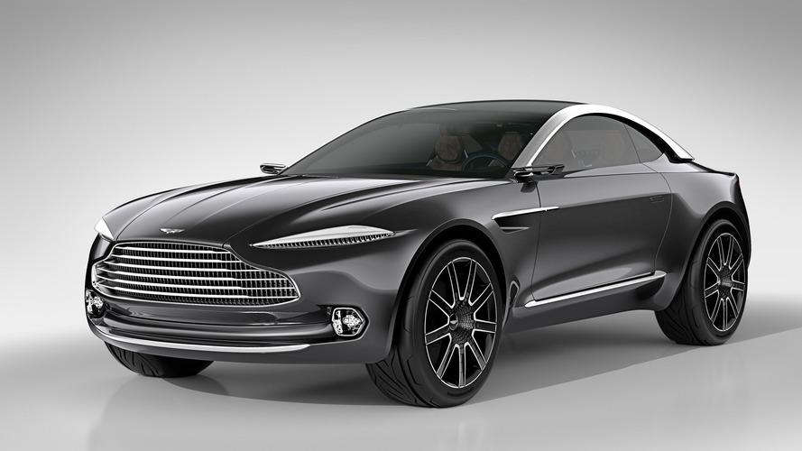 Uniquement de l'essence pour le futur SUV signé Aston Martin?