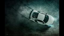Audi R8 scale model photo shoot