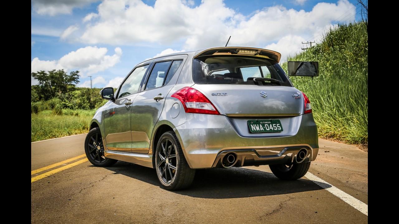 Recall: Suzuki convoca 320 unidades do Swift no Brasil por falha no freio