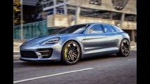 Nova geração do Porsche Panamera tem primeiro teaser divulgado