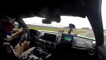 Mercedes-AMG GT R Nurburgring lap