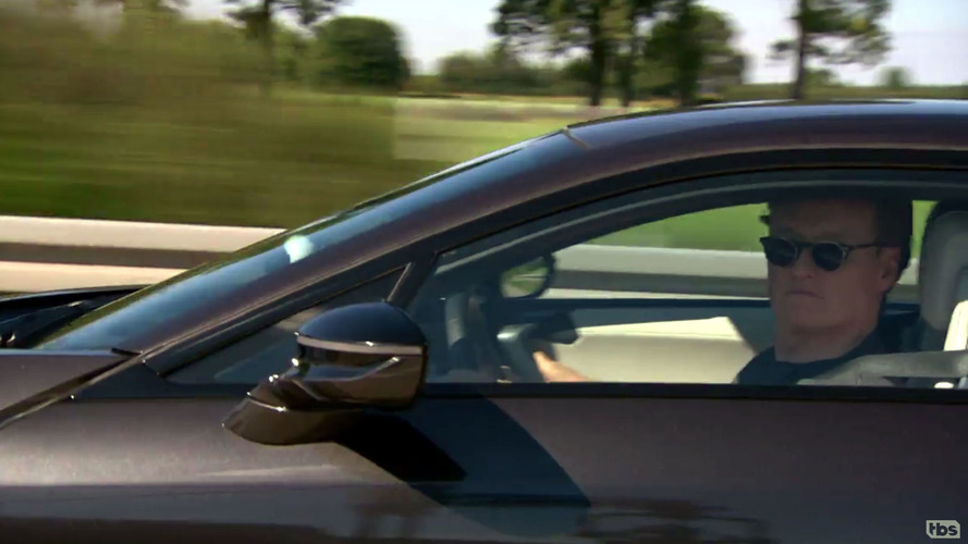 Conan O'Brien takes BMW i8 to 230 km/h on the Autobahn, hilarity ensues
