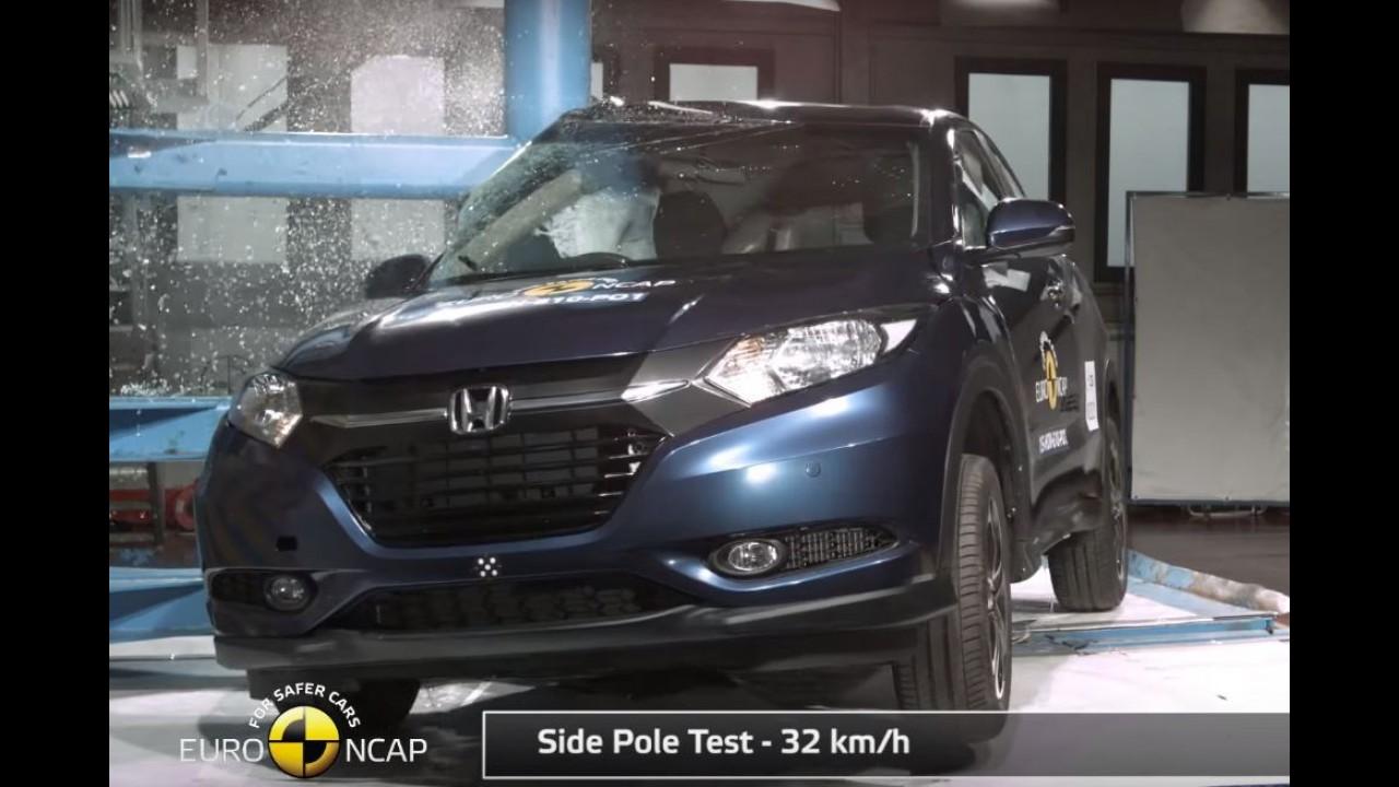 Honda HR-V, Fit e novo Audi A4 recebem 5 estrelas no Euro NCAP