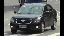 Flagra: Chevrolet Cobalt 1.8 Automático já está pronto e com placa definitiva