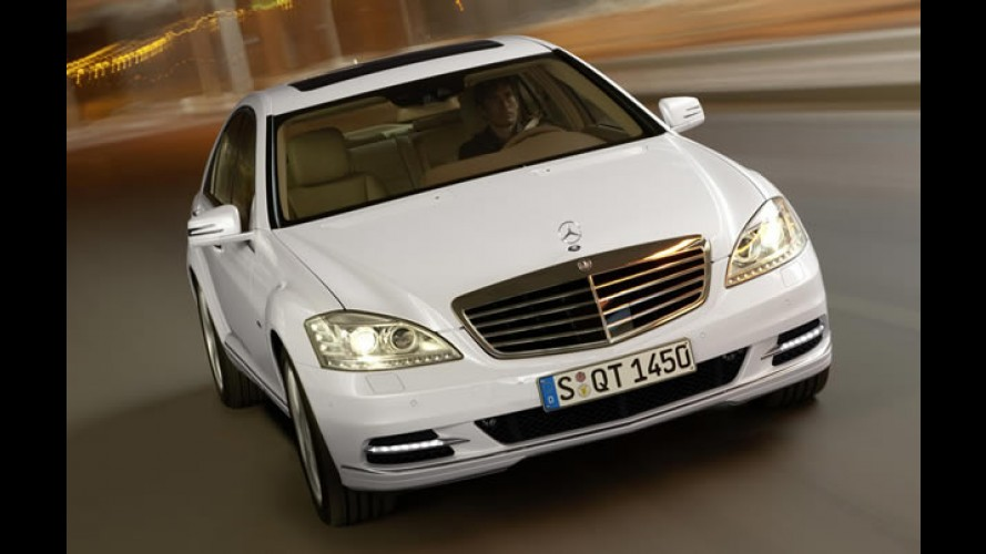 Mercedes S400 BlueHYBRID é 1° híbrido a ser vendido no Brasil - Preço: R$ 456.300