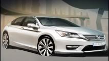 Honda revela os primeiros esboços do Accord russo