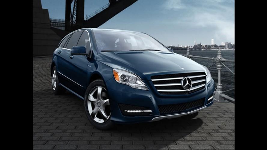 Mercedes Benz Classe R se despede dos Estados Unidos este ano