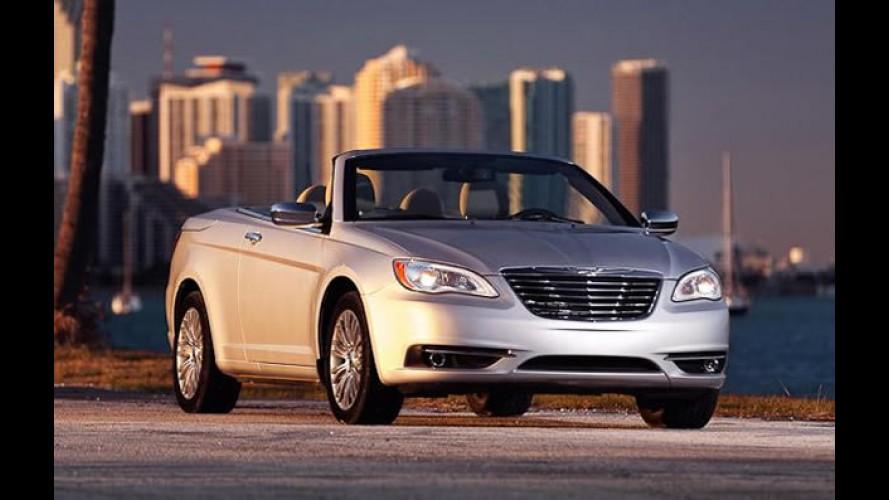 Fotos oficiais do Novo Chrysler 200 Conversível vazam na internet