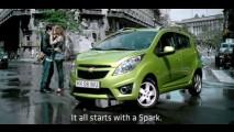 VÍDEOS: Confira propagandas européias do Novo Chevrolet Spark (Beat ou Novo Celta)