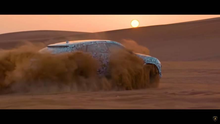 Teaser - Lamborghini Urus, le
