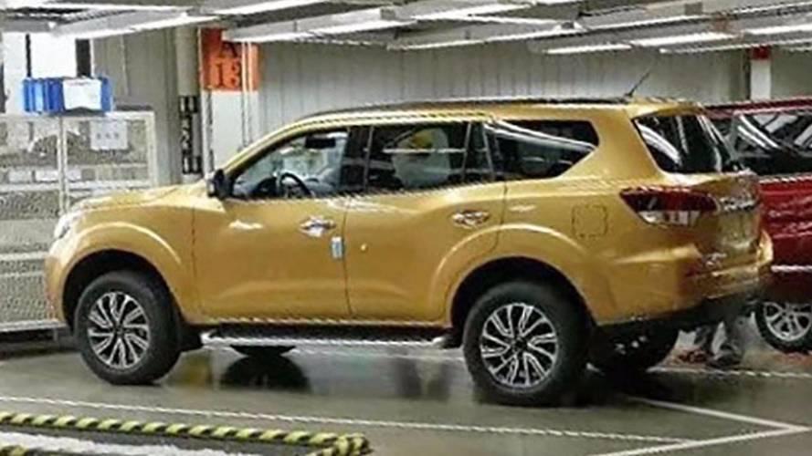 Segredo: Vaza imagem do SUV da Nissan Frontier que enfrentará SW4