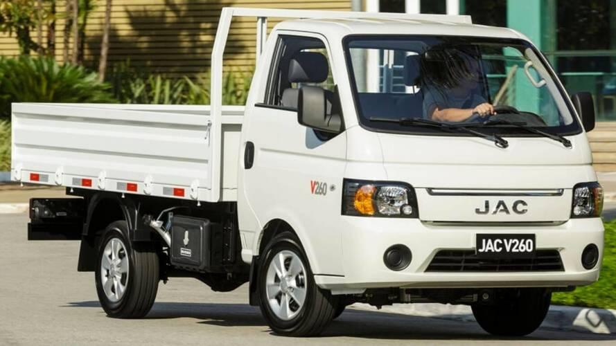 JAC lança caminhão leve V260 no Brasil por R$ 69.990