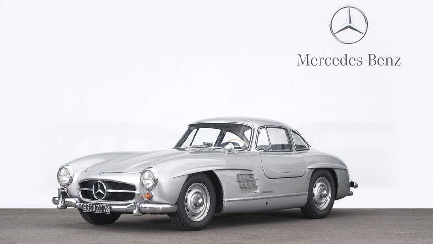 1 39 416 39 000 euros pour une mercedes 300 sl roadster. Black Bedroom Furniture Sets. Home Design Ideas