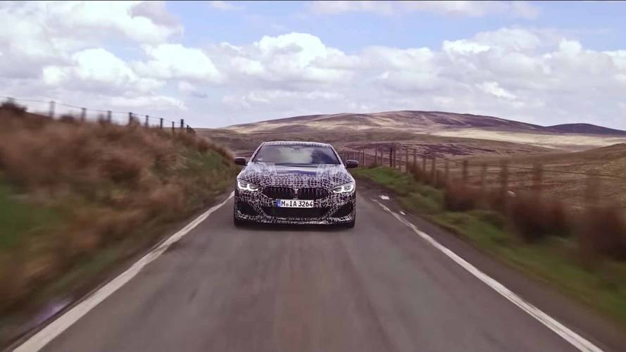 BMW Teaser Reveals 8 Series Has 523-HP V8, All-Wheel Steering