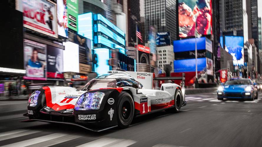 La Porsche 919 s'offre une balade... dans les rues de New York !