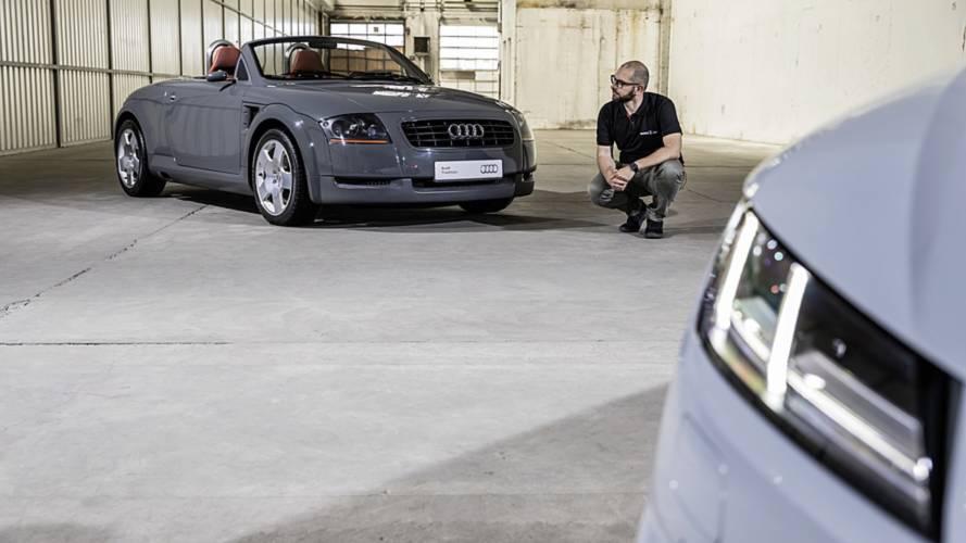 Novo Audi TT e TTS