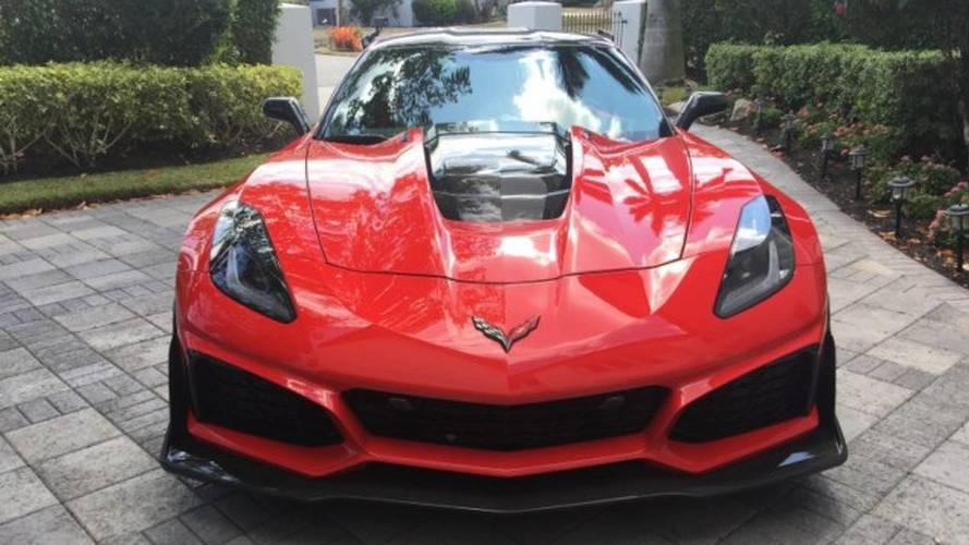 2019 Chevy Corvette ZR1 Owner Wants Nearly $200,000 For His Car