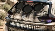 Le Nissan Rogue déguisé en Faucon Millenium